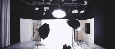 Professional lighting setup
