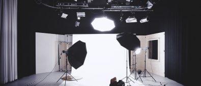 Professional lighting setup