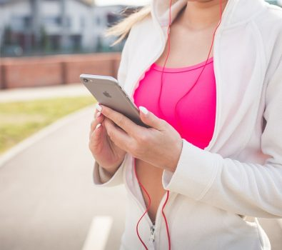 Use smartphone as a fitness trainer